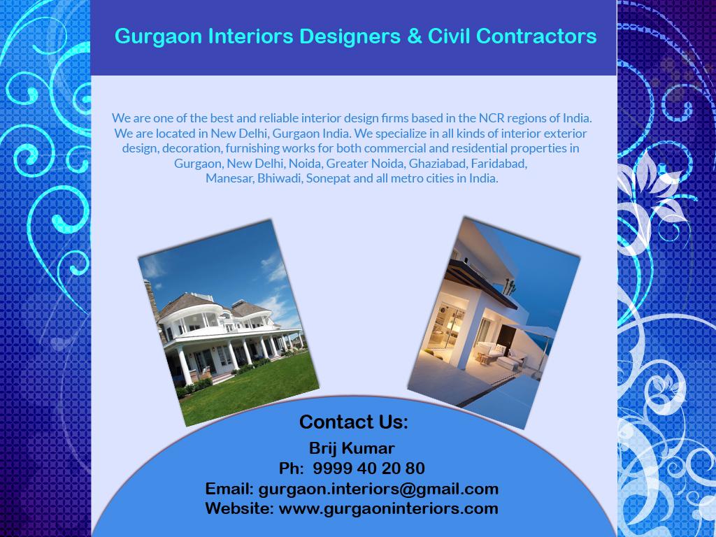 Anand Niketan Interior Decorators Designers Contractors Civil Construction Home Office New Delhi