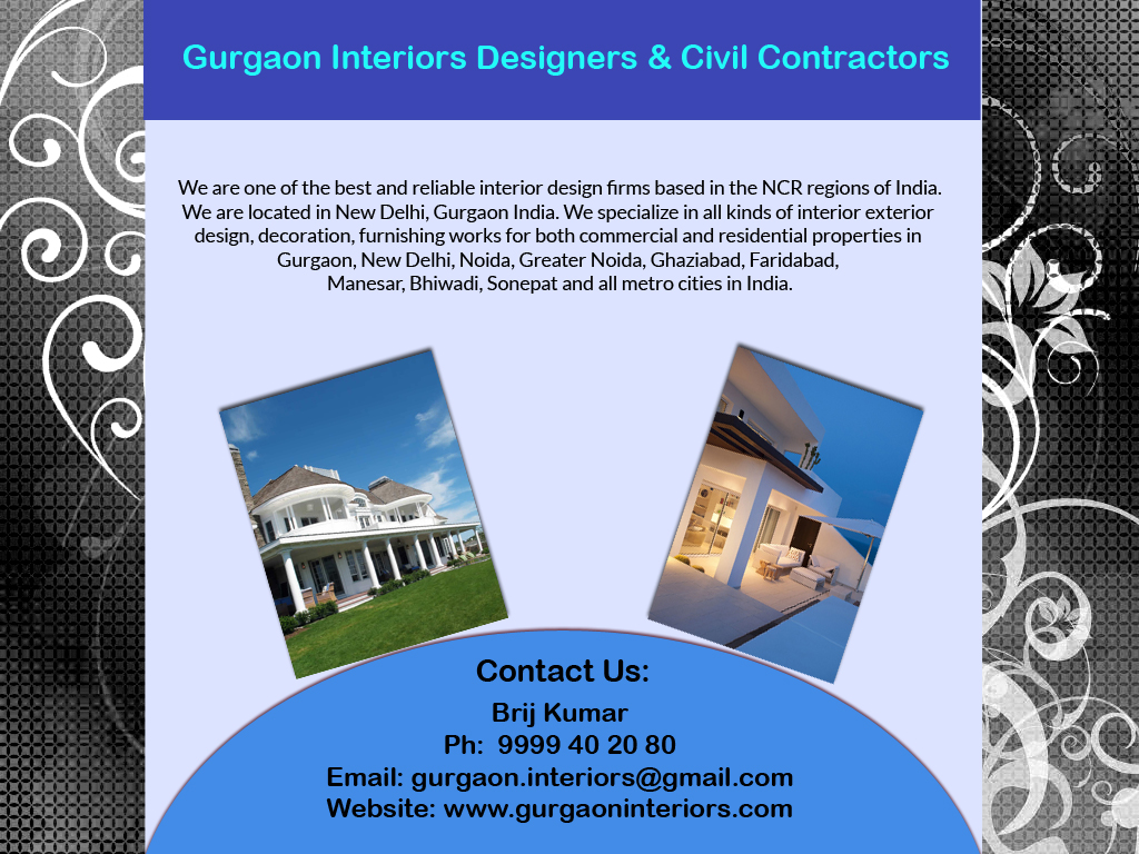 TOP INTERIORS Gurgaon Interiors Designers